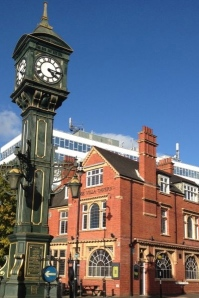 The Chamberlain Clock Jewellery Quarter Birmingham erected 1903
