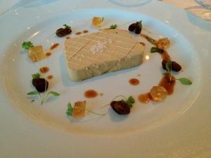 Foie Gras Parfait at Marco Pierre Whites Birmingham