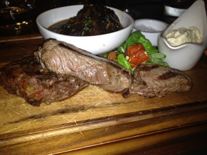 """Back to Front"" - Rump, Hanger, and Ox cheek at Anderson's Bar and Grill"