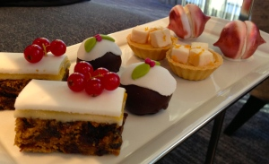 Sweets on Christmas Afternoon Tea at Hotel La Tour Birmingham
