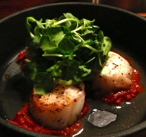 Scallops at The Lost & Found