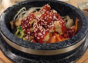 Chicken Dupbap at Topokki Korean Birmingham