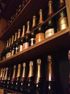 Champagne Library Bar Epernay