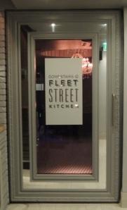 Alice in Wonderland Door, Downstairs at Fleet Street Kitchen Birmingham