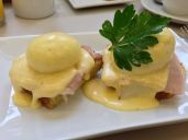 Cafe Opus Eggs Benedict