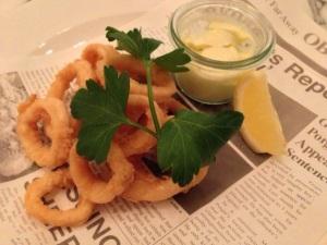 Calamari Fleet Street Kitchen Birmingham