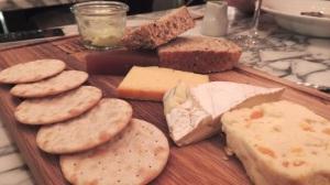 Cheese Board at Fleet Street Kitchen Birmingham