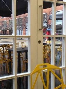 Inside Outside at Cafe Opus