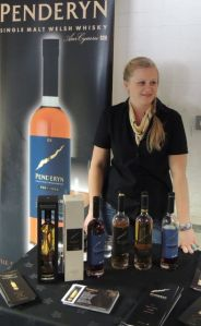 Penderyn at Whisky Birmingham 2013