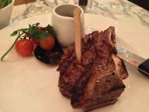 Fillet Steak on the Bone Fleet Street Kitchen BirminghamFillet Steak on the Bone Fleet Street Kitchen Birmingham