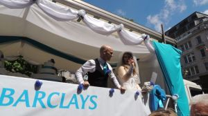 Barclays Float Birmingham Pride 2013