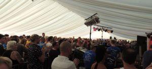 Cabaret Tent Birmingham Pride 2013