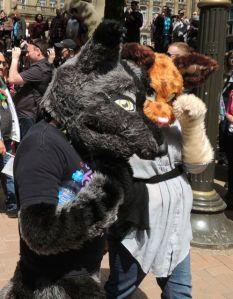 Foxy Ladies Birmingham Pride 2013
