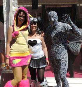 Morph Suit Birmingham Pride 2013