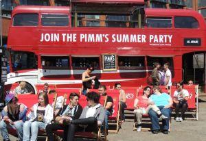 Pimms Bus Birmingham Pride 2013