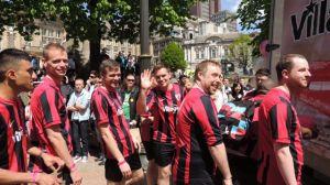 Village Inn Footballers Birmingham Pride 2013