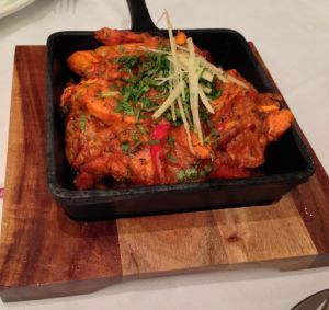 Out In Brum - Isaacs Indian - Chicken Tawa