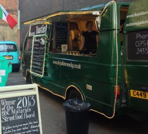 Out In Brum - Digbeth Diner - The Jabberwocky Gourmet Toasties
