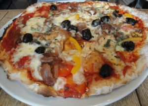 Out In Brum - The Plough Harborne - Pizza 1