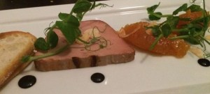 Out In Brum - Waters On The Square - Chicken Parfait