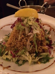 Out In Brum - Celebrity Indian - Lamb Biryani