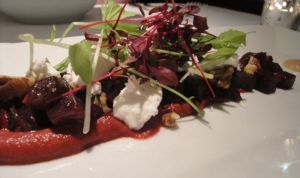 Out In Brum - Edmunds - Beetroot Starter
