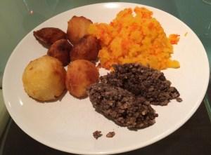 Out In Brum - Macsween Selfridges Venison Haggis - Plate