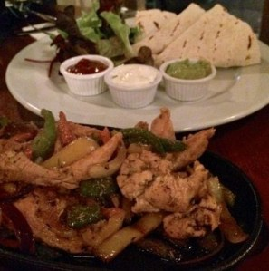 Out In Brum - Edmunds Lounge - Chicken Fajita