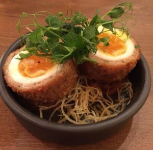 Out In Brum - Pure Bar and Kitchen - Scotch Eggs
