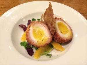 Out In Brum - The New Inn - Scotch Egg