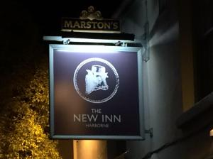 Out In Brum - The New Inn - Sign