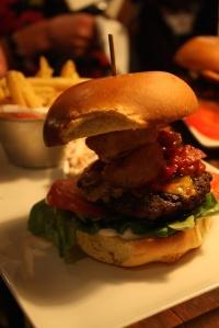 Out In Brum - Revolution Bar - Burger 2