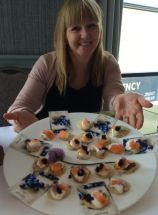 Out In Brum - Wine Fest 2014 - Canapes Kitchen School Jane Bradley