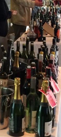 Out In Brum - Wine Fest 2014 - Wine Bottles