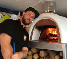 Out In Brum - Bare Bones Pizza - Tim and Oven