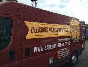 Out In Brum - Bare Bones Pizza -  Van