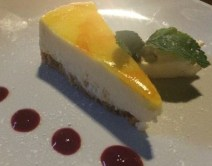 Out In Brum - Le Monde Bar Grill Brindley Place Birmingham - Cheesecake