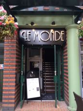 Out In Brum - Le Monde Bar Grill Brindley Place Birmingham - Exterior