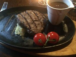 Out In Brum - Le Monde Bar Grill Brindley Place Birmingham - Fillet Steak