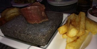 Out In Brum - Moor Hall - Hot Rocks - Fillet