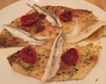 Out In Brum - COMiDA Tapas -Anchovies Boquerones