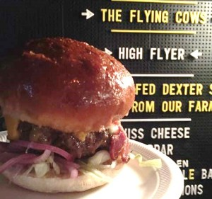 Out In Brum - Burger Battle - The Flying Cow Burger