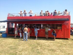 Out In Brum - The Drinks Bus - In the sun