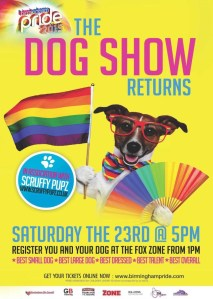 Birmingham Pride 2015 Dog Show
