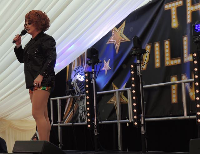 Out In Brum - Pride 2015 - Cabaret Tent - Miss Penny
