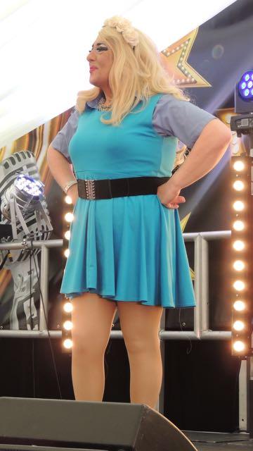 Out In Brum - Pride 2015 - Cabaret Tent - Pam Catz