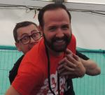 Out In Brum - Pride 2015 - Gogglebox Chris and Steve