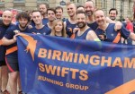 Out In Brum - Pride 2015 - Parade - Birmingham Swifts Running