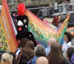Out In Brum - Pride 2015 - Parade - Nandos Cock