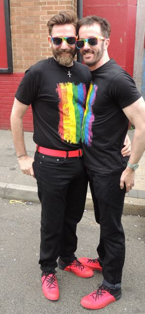 Out In Brum - Pride 2015 - Well Dressed Couple 1